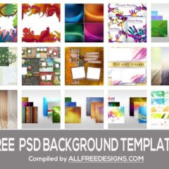 78 Free PSD Templates for Creating Backgrounds