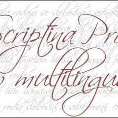 16 Free Script Fonts For Elegant Designs