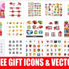 500+ Free Gift Icons and Vector Illustrations