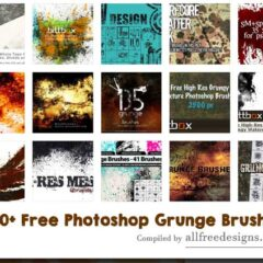 400+ Excellent Free Photoshop Grunge Brushes