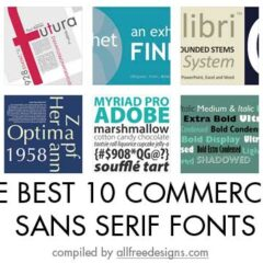 Best 10 Must-Have Professional Sans-Serif Fonts
