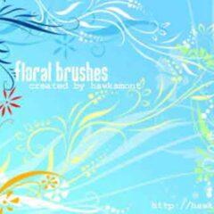 200+ Beautiful Floral Swirls Photoshop Brushes