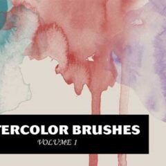 Top 25 Creative Watercolor Photoshop Brushes