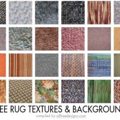 25 High-Quality Rug Textures for Creating Realistic Designs