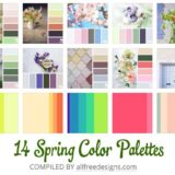 25 Spring Color Palettes to Use in Your Designs