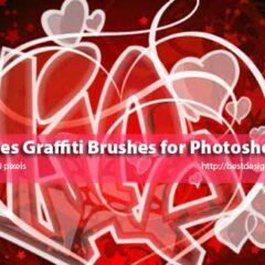 22 Extra Large Graffiti Letters Photoshop Brushes