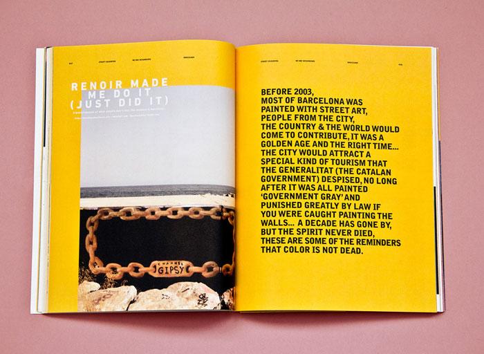 mmagazine layout