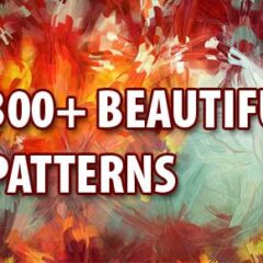 300+ Cool Background Patterns from Behance