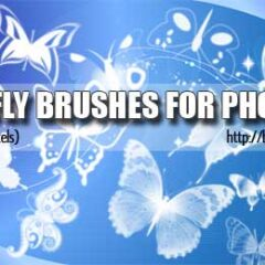 20 Exclusive Butterfly Photoshop Brushes