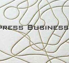 20 Best of Letterpress Business Cards