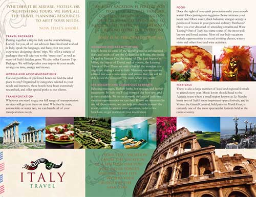 Travel Brochure Design: 40 Beautiful Examples