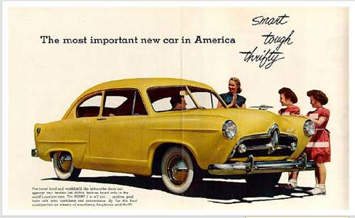 Vintage Car Ads From 1930s To 1970s To Keep You Inspired
