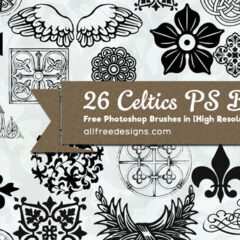 26 Exclusive Celtic Brushes for Photoshop CS
