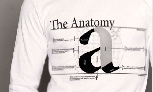 T-Shirt Design Ideas Featuring Typographic Designs