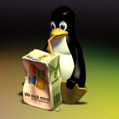 25 Funny Linux Wallpaper Designs for Geeks