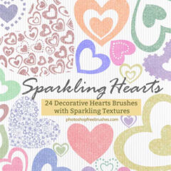 500+ Love Clip Art Photoshop Brushes for Valentines