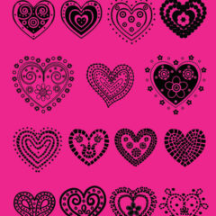 Free Valentine Clip Art and Vector Hearts to Download