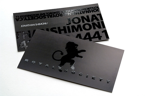 Spot UV Business Card Designs: 20 Beautiful Examples