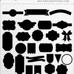 1K+ Custom Photoshop Shapes to Download Free