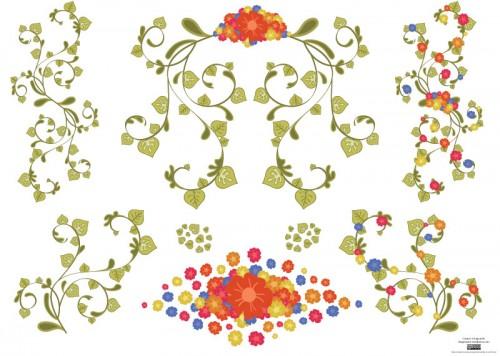 vector-flowers-17