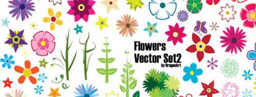 vector-flowers-5