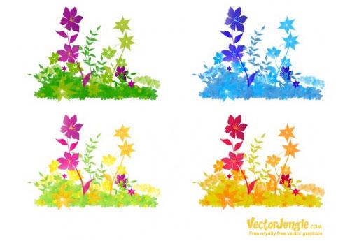vector-flowers-9