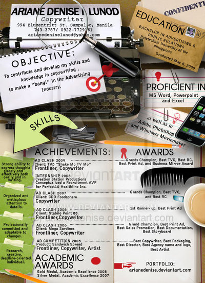 infographic resume 35 creative exles