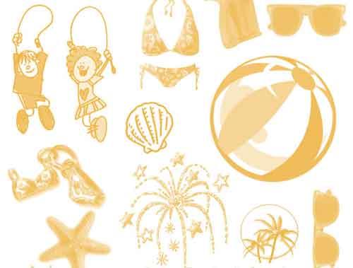 summer clip art
