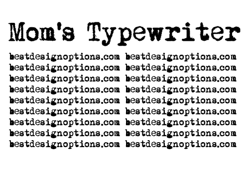 How To Use Typewriter Font In Web Design