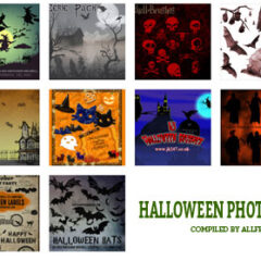 150+ Creepy Halloween Symbols Photoshop Brushes