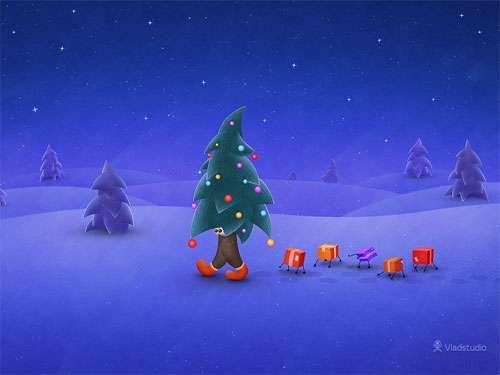 christmas desktop wallpapers