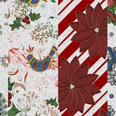 100+ Seamless Christmas Photoshop Patterns