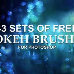 43 Sets of Free Bokeh Effects Photoshop Brushes