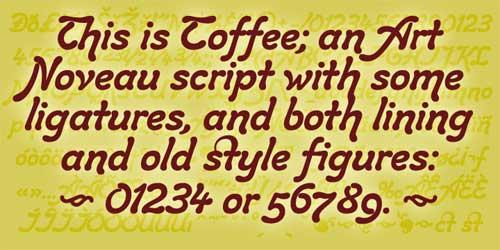 brush script fonts