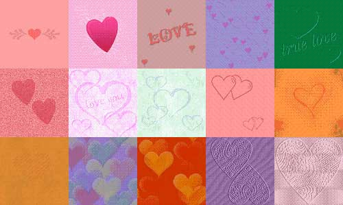 hearts patterns