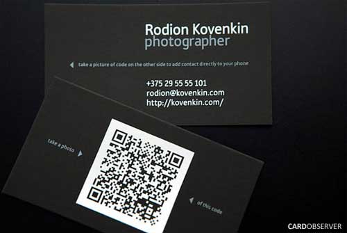 Photographer business cards 40 great design ideas photographer business cards reheart Choice Image