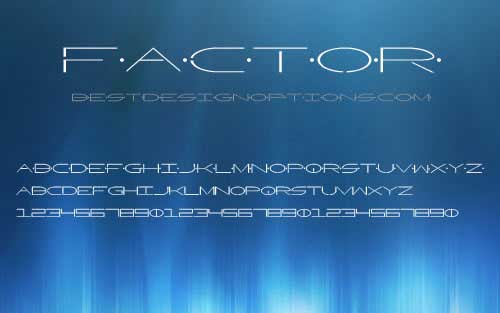 futuristic fonts  20 free typefaces for creating modern