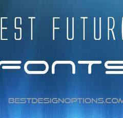 20 Best Futuristic Fonts for Modern Designs that You Can Get Free