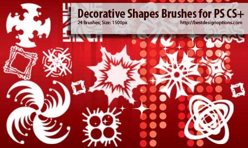 ornament photoshop brushes