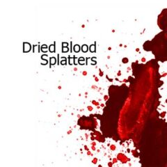 21 Sets of Free Blood Splatter Brushes