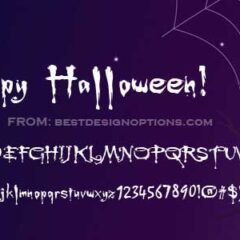 Free Scary Fonts for Halloween Party Posters