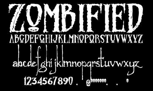 Scary Fonts to Download and Use for Halloween Party Posters and ...