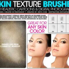 Skin Photoshop Brushes for Enhancing Portraits