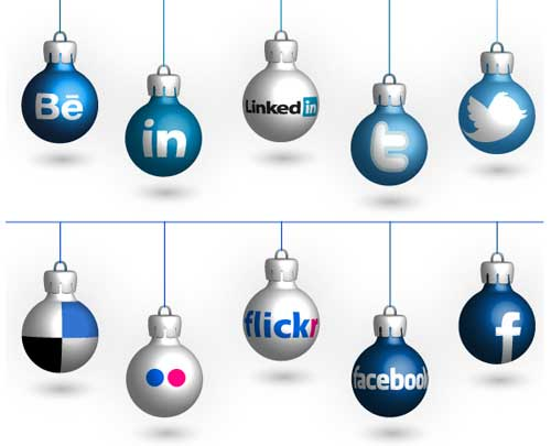Christmas Tree Icon Facebook