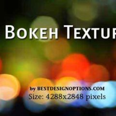 50 High-Res Light Bokeh Background Textures