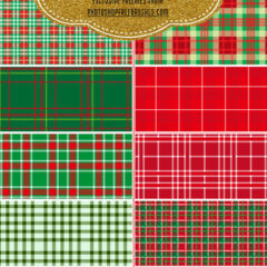 20 Sets of Free Plaid Patterns and Swatches to Boost Your Collection
