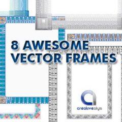 1K+ Border Clip Art Images for Making Photo Frames