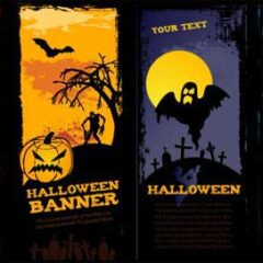 Halloween Graphics: 20 Vector Sets to Download Free