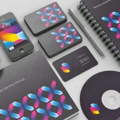 15 Sets of Beautiful Brand Identity Design Examples