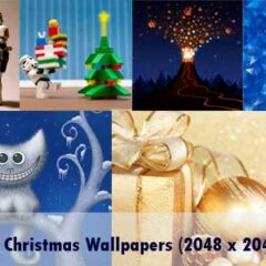 20 Christmas iPad Wallpapers for Retina Display